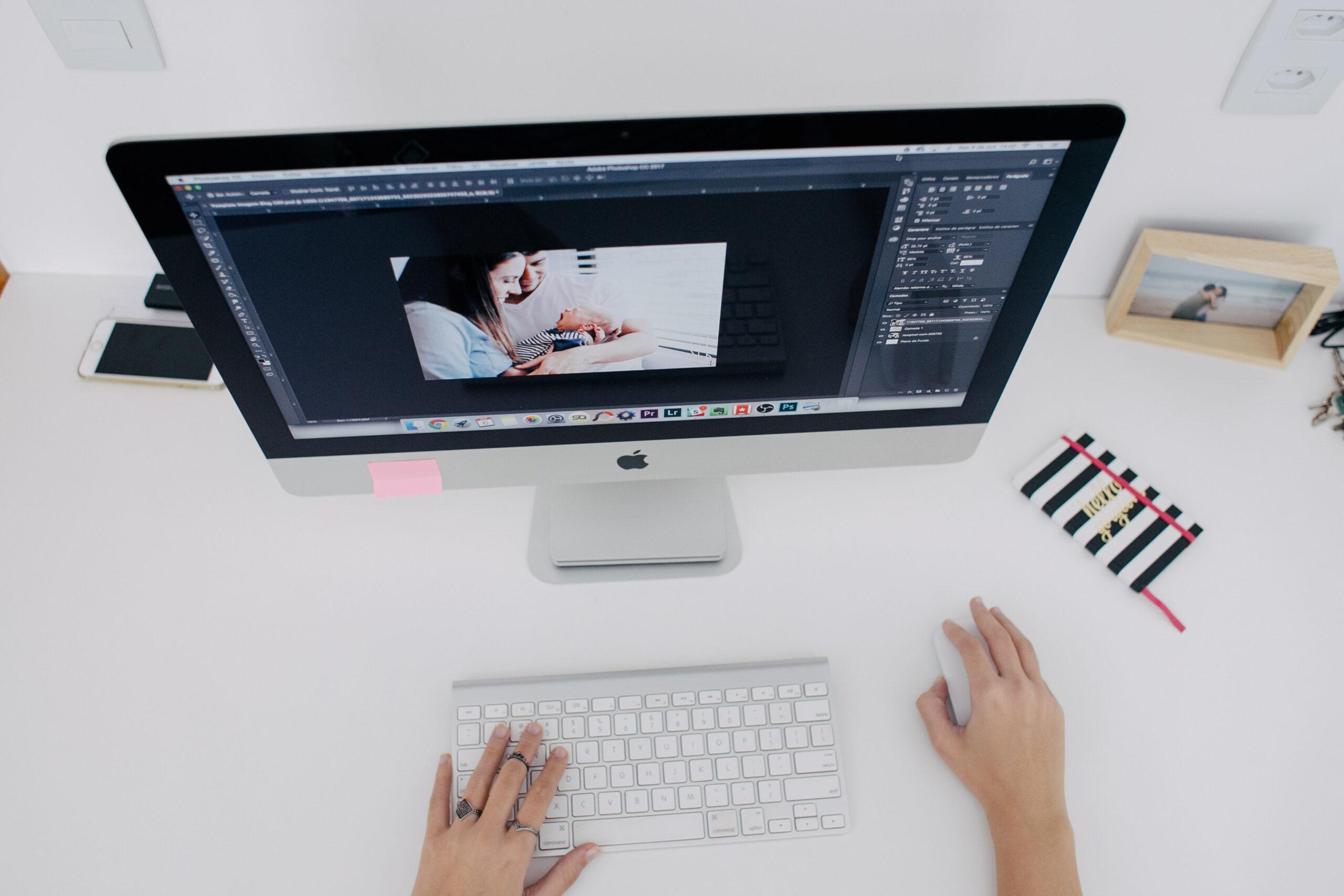 Como criar portfólio de fotografia?