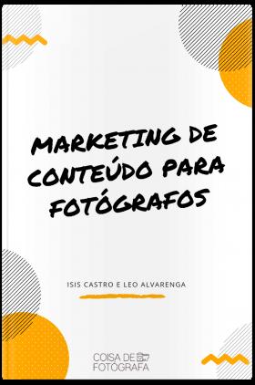 eBook Marketing de Conteudo Para Fotografos CAPA Livro